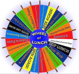 wheeloflunch sample jpgSpin The Wheel